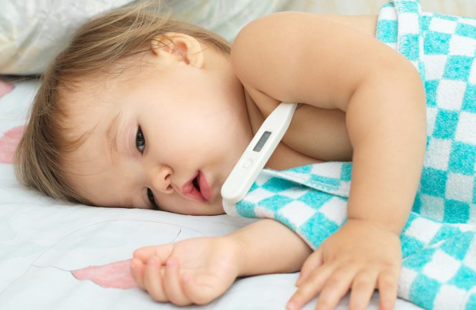 Gorączka u niemowlaka – następstwo stresujących wydarzeń